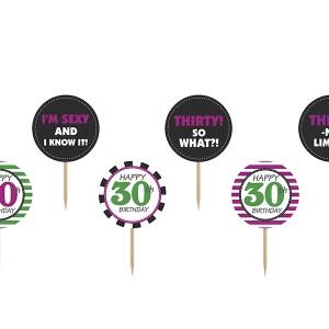 Akcesoria na 30 urodziny