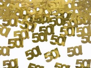 "Konfetti holograficzne ""50"", 15g"
