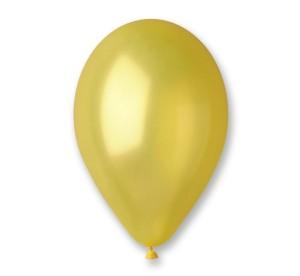 "Balony GM90 metal 10"" - żółte"