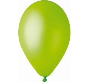 """Balon GM90 metal 10"""" - """"pistacjowy"""""""