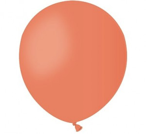 """Balony lateksowe małe 5"""" - Balon A50 pastel 5"""" - """"pomarańczowy"""""""