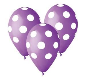 """Balony lateksowe groszki i konfetti - Balony 12"""" """"Grochy"""""""