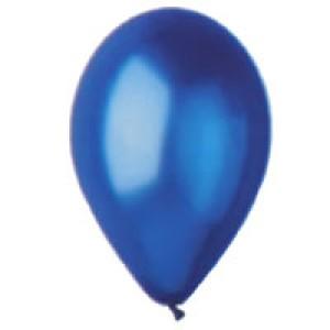 """Balony lateksowe małe 5"""" - Balony AM50/36 - metalizowane - niebieskie"""