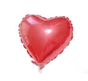 """Balon foliowy 18' FX- ,,Serce"""" (czerwone)"""