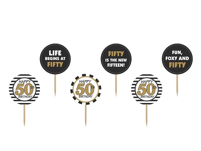 Akcesoria na 50 urodziny, akcesoria na pięćdziesiątkę