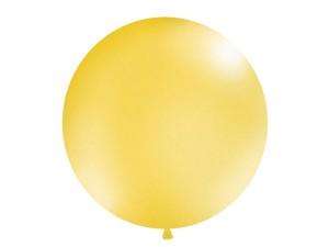Balony lateksowe Olbo - Balon lateksowy OLBO - metalizowany złoty / średnica 1 m