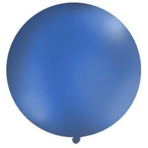 Balony lateksowe Olbo - Balon lateksowy OLBO - pastelowy granatowy / średnica 1 m