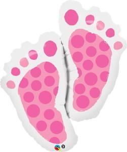 """Balony foliowe o nietypowych kształtach - Balon foliowy 35"""" """"Baby Feet """""""