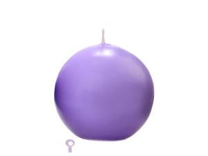 Świeczki kule - Wrzosowa świeca kula / 8 cm