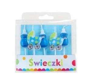 """Świeczki Pikery ,,Blue Baby"""""""