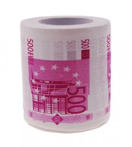 """Papier toaletowy ,,500 Euro"""""""