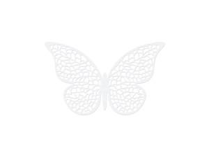 Dekoracje papierowe - Dekoracje papierowe Motyl / 6,5x4 cm