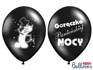 """Balony na Wieczór Panieński - Balony na panieński """"Gorączka Panieńskiej Nocy"""" / SB14P-241-010/6"""