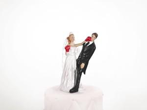 Figurka Panna Młoda i Pan Młody 14cm