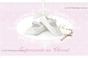 Zaproszenia na Chrzest Święty - Zaproszenia na Chrzest Święty / Z.C6-511