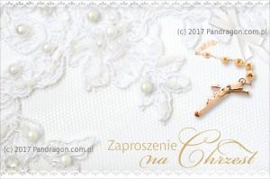 Zaproszenia na Chrzest Święty - Zaproszenia na Chrzest Święty / Z.C6-513