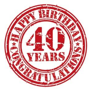 40 urodziny