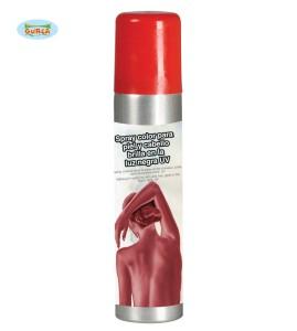 Spray do ciała - Czerwony spray do ciała