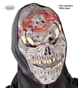 Maska PVC Potwór z kapturem