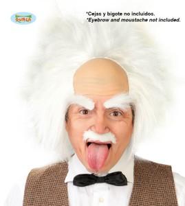 """Peruki - Męska peruka """"Szalony Einstein"""""""