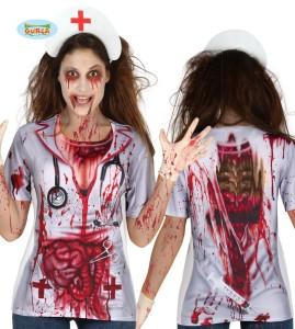 """Koszulki - Koszulka na Halloween """"Pielęgniarka Zombie"""""""