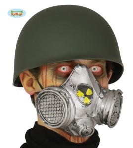 Maski na Halloween - Maska Gaz jądrowy, PVC