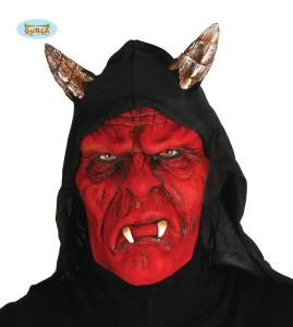 "Maski na Halloween - Maska na Halloween ""Demona z kapturem"""