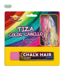 Kredka do włosów różowa