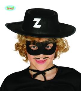 Kapelusze - Kapelusz Zorro. Czarny z filcu