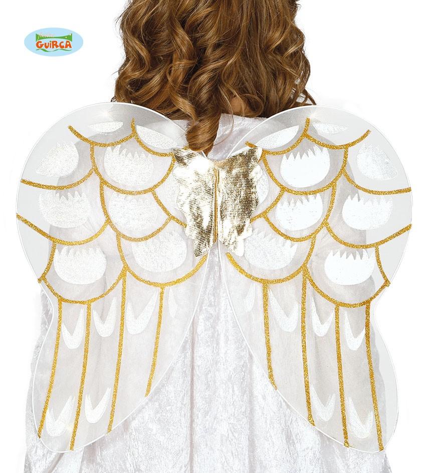 Skrzydła anioła na Jasełka, dodatki stroju anioła na Jasełka