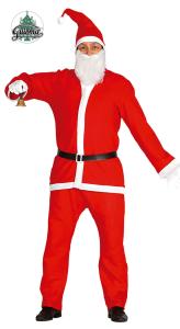 Stroje dla mężczyzn - Strój Świętego Mikołaja, rozm L/XL / 42692