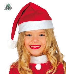 Czapki - Czapka dziecięca Święty Mikołaj