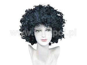 "Peruki - Damska peruka czarna ""Charlotta"" / 59-50"