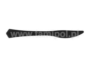 Noże plastikowe czarne