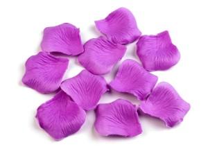 Płatki róż dekoracyjne - Płatki róż jasny fiolet