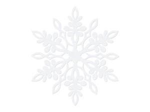 Dekoracje papierowe Śnieżynka