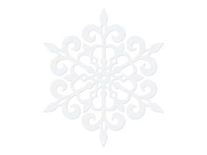 Dekoracje papierowe - Dekoracje Śnieżynki papierowe