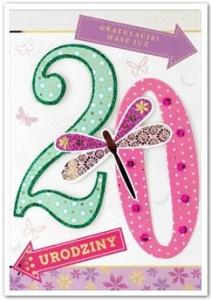 Karnet HM-200-845  20 Urodziny