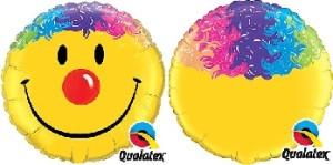 """Balony foliowe o nietypowych kształtach - Balon foliowy 36"""" """"Uśmiech Klauna"""""""