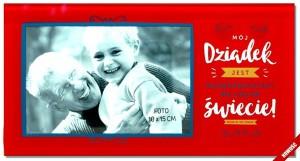 """Ramki na zdjęcia - Ramka na zdjęcie """"Dziadek"""" / Candy"""