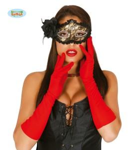 Rękawiczki - Rękawiczki czerwone / 16498