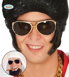 Okulary Króla rocka. Złote