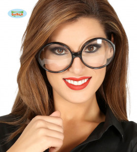 Okulary Sekretarka, czarne