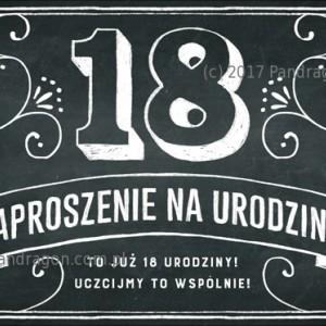 Zaproszenia na urodziny dla dorosłych