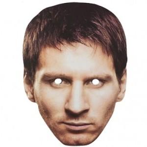 "Maski - Maska papierowa ""Messi"""