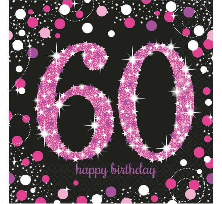 Dekoracje na urodziny dorosłych, serwetki, świeczki