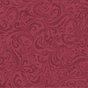 """Serwetki flizelinowe 40x40, wzorzyste """"LIAS""""- bordowe"""
