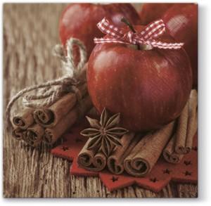 "Serwetki Lunch 33x33 ""Christmas Apple"""