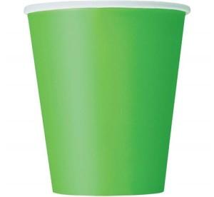Kubeczki papierowe, zielone