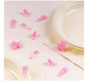 """Dekoracyjne konfetti """" Dziewczynka """""""